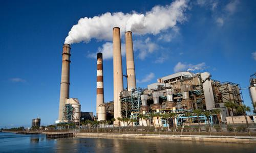 Power-Plant-smokestack
